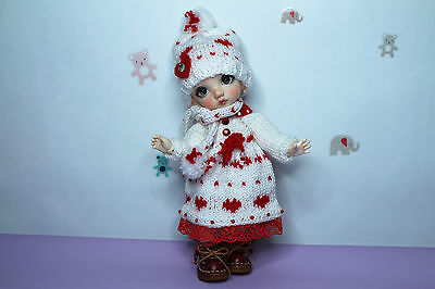 BJD Handmade Outfit  for Pukifee FairyLand, Height (Cm / Inch) 15.5 / 6.10