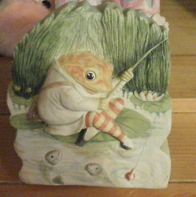 beswick beatrix potter plaque of jeremy fisher