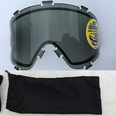 New JT Spectra ProFlex Thermal Smoke Lens with lens bag Paintball Mask Goggle