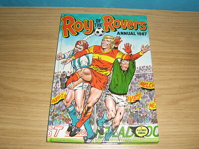 roy of the rovers 1987 annual.