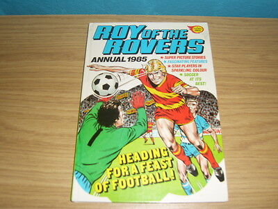 roy of the rovers 1985 annual.