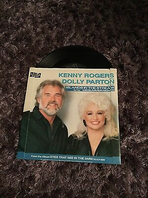 7 inch vinyl - Kenny Rogers and Dolly Parton