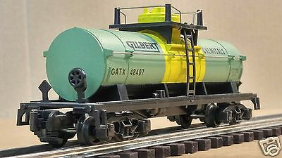 American Flyer #4-48407 - Gilbert Chemicals - Single Dome Tank Car - NICE!