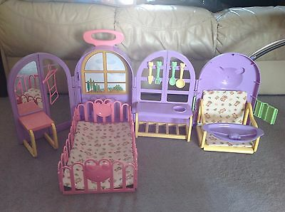 Dolls home - My Baby Trolley with Home by Lotus- age 3+ - reduced