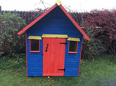 """Childrens """"Crooked"""" Wooden Play House/Wendy House # Ideal Christmas Present"""