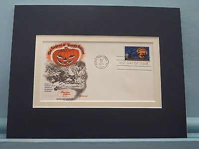 Washington Irving & the Legend of Sleepy Hollow & First Day Cover of its Stamp