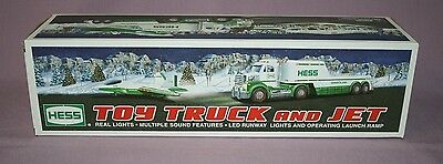HESS TRUCKS - Hess Toy Truck and Jet    2010