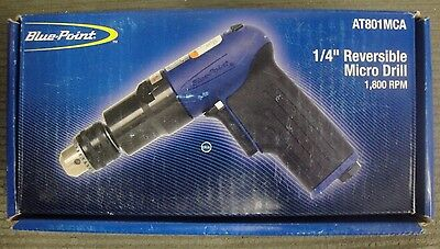"Blue Point 1/4"" Reversible Micro Drill"