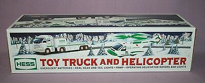 HESS TRUCKS - Hess Toy Truck and Helicopter   2006