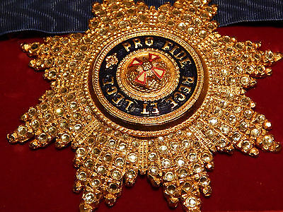 Order Of The White Eagle Breast Star With Swarovski Crystals