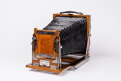 Wood Camera 11x 15 cm plate double Extension (Vageeswari type)