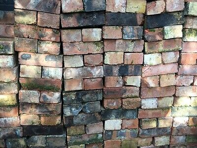 300 (approx)Reclaimed London Red Bricks