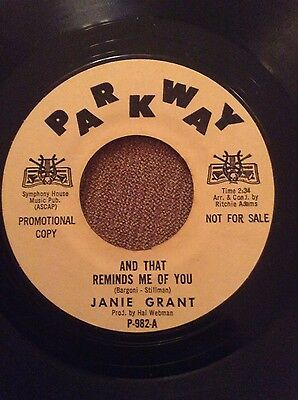 Northern Soul Records - Janie Grant, and that reminds me of you