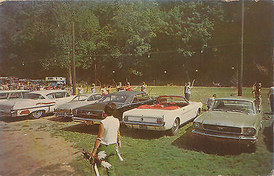 Classic Cars at the PA Bowhunters Festival Forksville PA 1960's