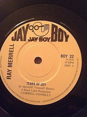 Northern Soul Records - Ray Merrell, Tears of joy
