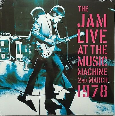 The Jam Live At The Music Machine March 1978 Double Vinyl Lp