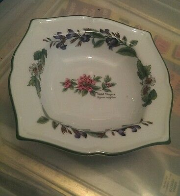 Lovely Royal Worcester Herbs dish