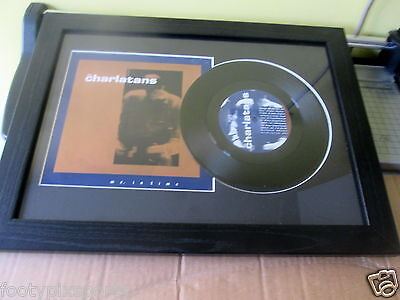 """The Charlatans - Me, in Time - Framed 7"""" Single"""