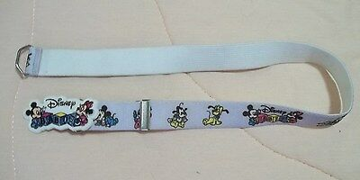 1984 WALT DISNEY Company CHILD'S BELT elastic Disney Babies buckle adjustable