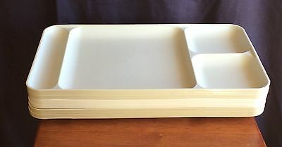 Tupperware Lot/6 Dining Trays Picnic Daycare TV Tray
