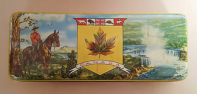 THORNE'S RCMP MOUNTIE CANADA TOFFEE TIN - Empty - Used Condition
