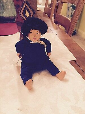 Chinese michal lee character doll