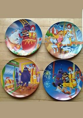 McDonalds Collector Plates 1993 Set of 4