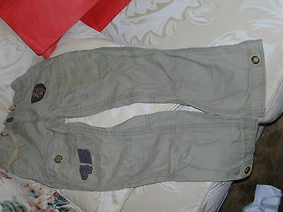 Boys stone coloured casual trousers from Next age 6