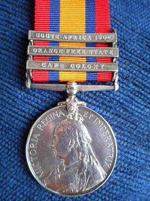 Queens South Africa Medal To Imperial Light Horse