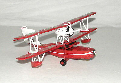 """Wings of Texaco No. 8 In Series """"The Duck"""" Diecast Bank Airplane NIB"""