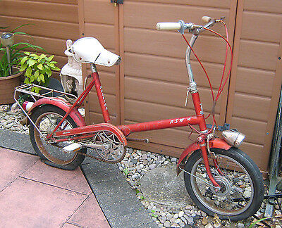 Raleigh RSW 16 1970s Classic Bicycle red- restoration project