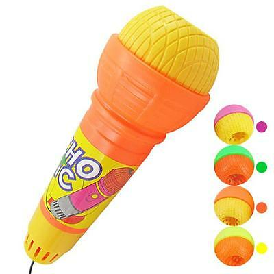 Echo Microphone Mic Voice Changer Toy Gift Birthday Present Kids Party Song Y4