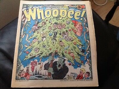 WHOOPEE . CHRISTMAS ISSUE 1978 - Paper comic In unread condition