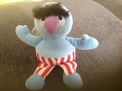 Sesame Street Mini Beans Muppet Herry Monster christmas used good condition