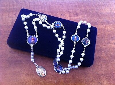 rosary bead necklace - rosary of the seven sorrows