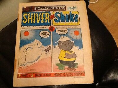 SHIVER AND SHAKE  Paper comic 1973 ISSUE NUMBER 23 . Still in good condition