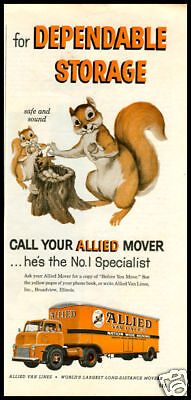 1957 Allied Movers vintage ad
