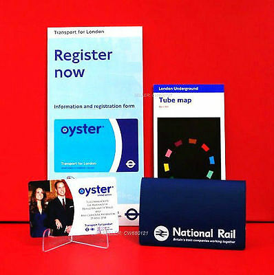 Genuine Royal Wedding William & Kate Tfl Oyster Card Limited Edition Brand New