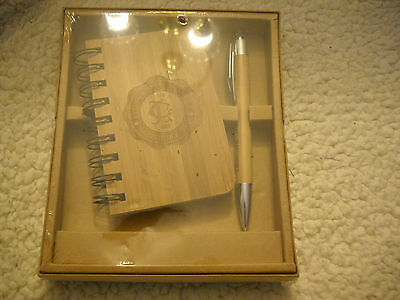 Livingstone College Salisbury, NC Pen and Embossed Notebook Gift Set