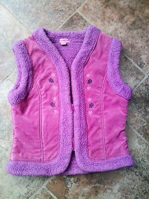 Katmandou Pink Gilet 10 Years Approx - See Full Description