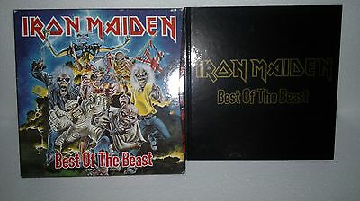 "IRON MAIDEN – Best Of The Beast ""Box Set  Limited edition 4xLP box """