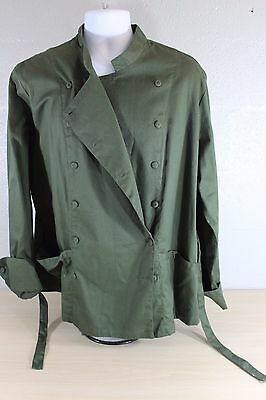 Chef Olive Green Uniform Jacket ChefUniforms Size 3XL