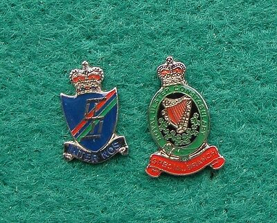 RUC Royal Ulster Constabulary Police SPECIAL BRANCH tie tac pin badges