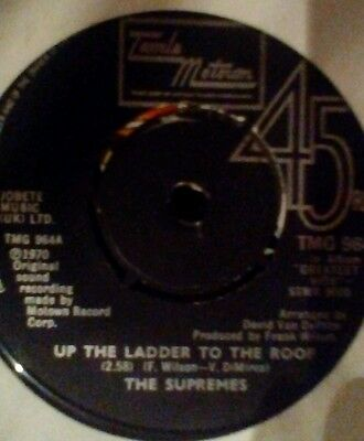 """The supremes up the ladder to the roof 7"""""""