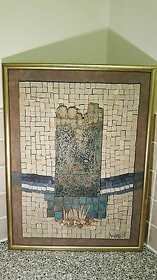 Studio Pottery Diane Worthy? Framed Picture