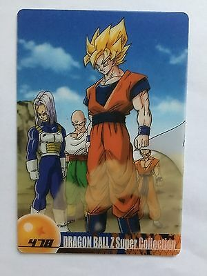 Dragon Ball Morinaga Wafer Card 478