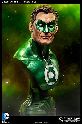 Green Lantern Life Size Bust Sideshow Collectibles DC Comics
