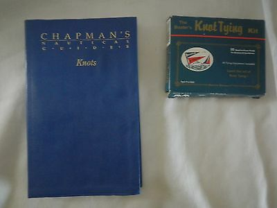 VINTAGE CHAPMAN'S NAUTICAL GUIDES – KNOTS And a Knot tying Kit