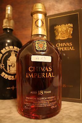 Whisky Chivas Imperial Aged 18 Years + Box , Cl70 , 43°
