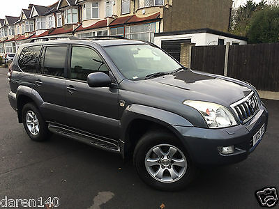 TOYOTA LANDCRUISER LC4 D-4D Grey MANUAL - EXPORT -FARM - RECOVERY - NO RESERVE